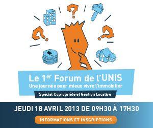Bannière Forum 2013 carrée